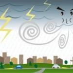 暴風警報発令の風速基準は?何mだと危ないの?